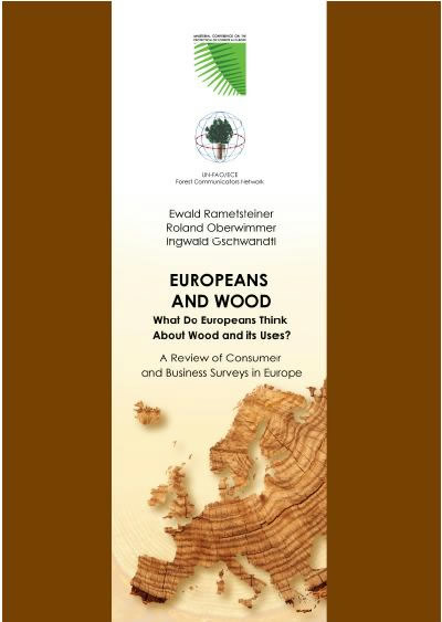 """Europeans and wood"" - rapportforside"