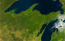 Efterårsfarver over USA den 6. oktober 2003 (Foto: DMI)