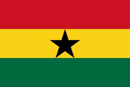 Ghanas flag
