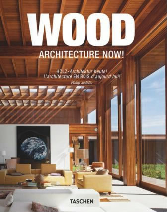 Forside fra Wood Architecture Now