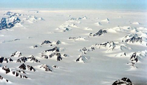 Nunatakker i Grønland