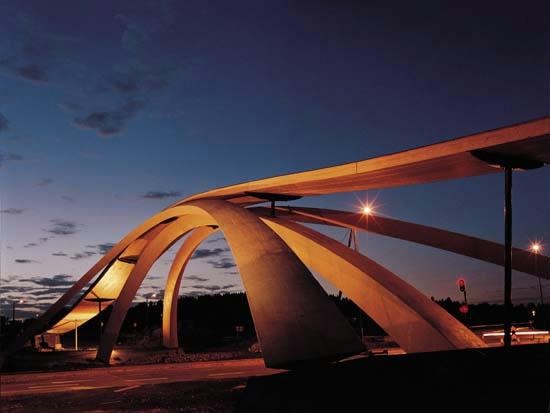 Træbro i Norge - Leonardo bridge