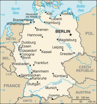 Tyskland Skove Og Skovbrug Trae Dk