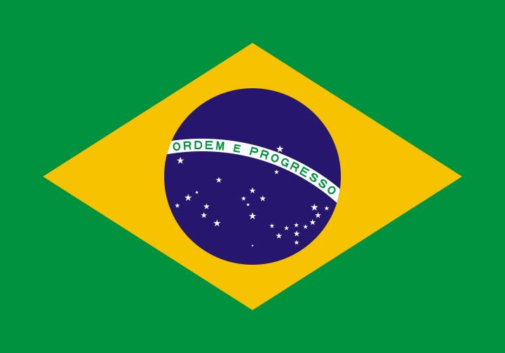 Brasiliens flag