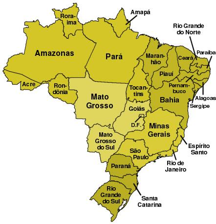 Brasiliens delstater
