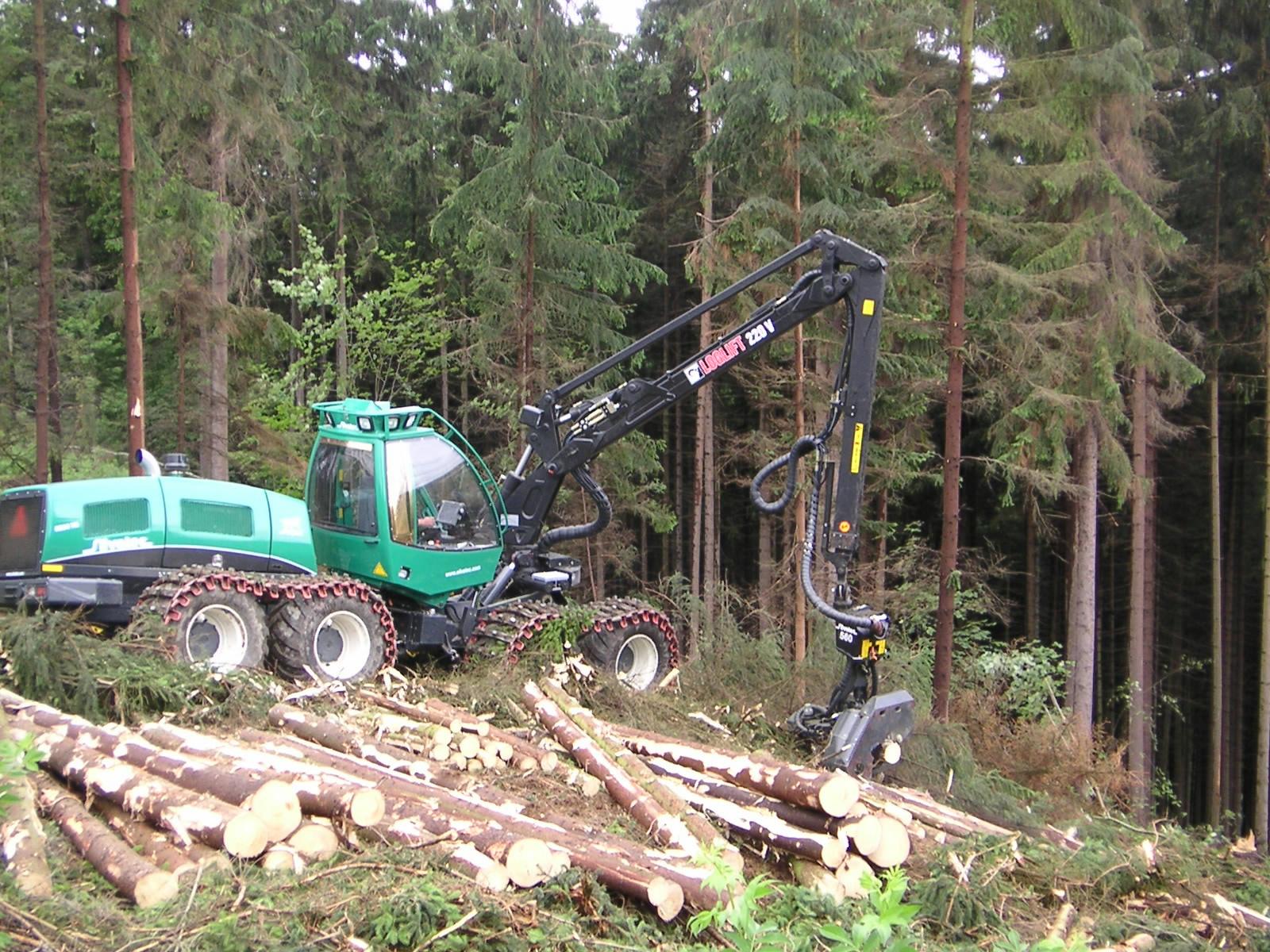 Skovningsmaskine Silvatec Sleipner