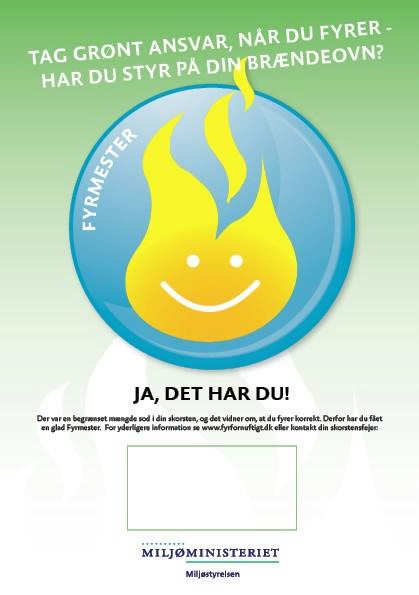 Miljøstyrelsens fyringskampagne - Har du styr på din brændeovn?