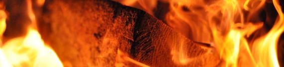 Brænde i flammer