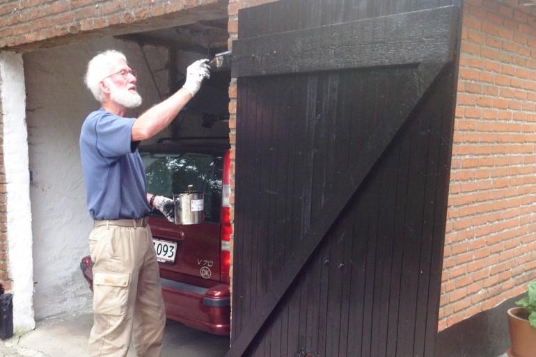 maling af træværk