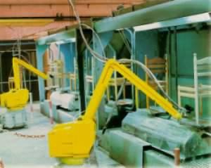 Robotterne er for alvor på vej ind i træ- og møbelindustrien (Kilde: Træ Nyt nr. 10-1997).