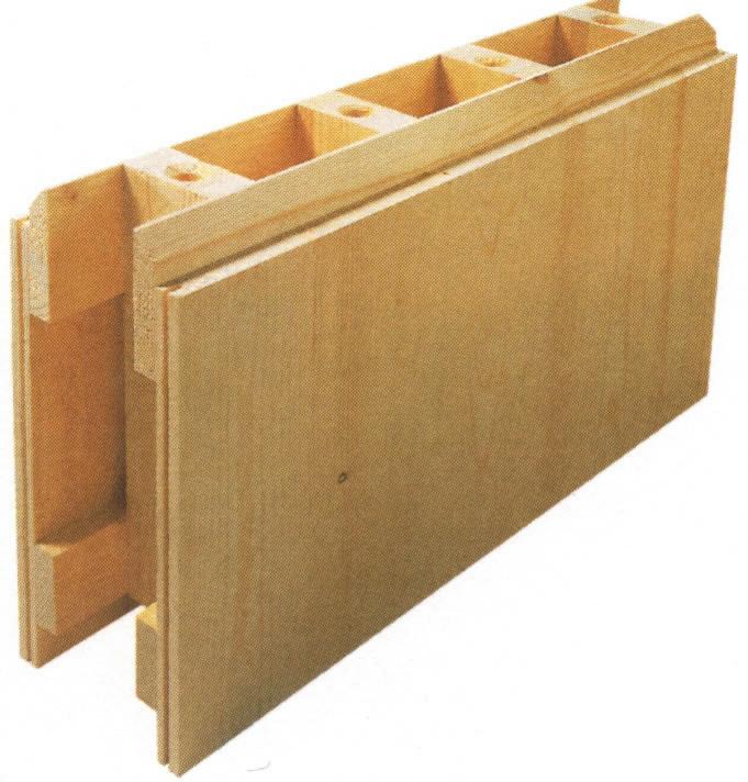 Fire typer af kasseelementer fra producenterne Lignatur og Steko. Den sidste er pruduceret af Steko.
