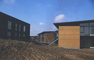 Hasselagerbyggeriet er lagt på terrasser. (Foto: Thomas Mølvig)