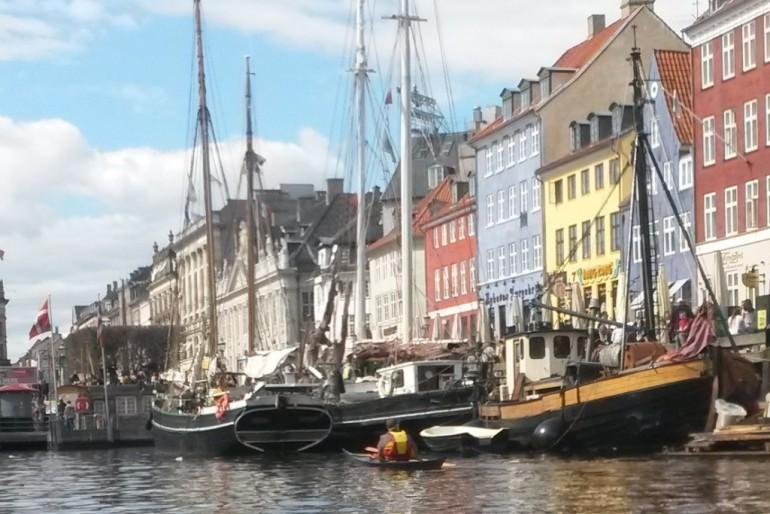 Træskibe i Nyhavn