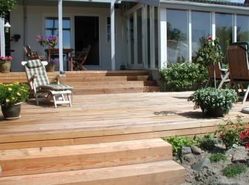 terrasser af lærk