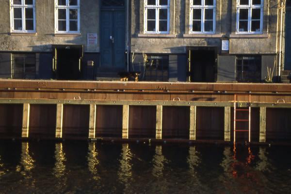 Azobé Christianshavn kanal