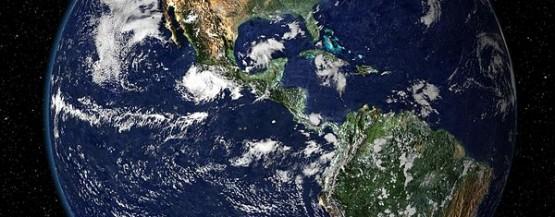 Jorden set fra rummet NASA