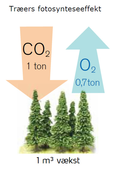 CO2 forskydning