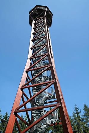 Teltschik udsigtstårn i Wilhelmsfeld