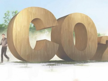 Træ fremfor CO2