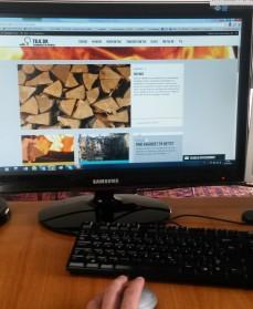 Find brændet på nettet