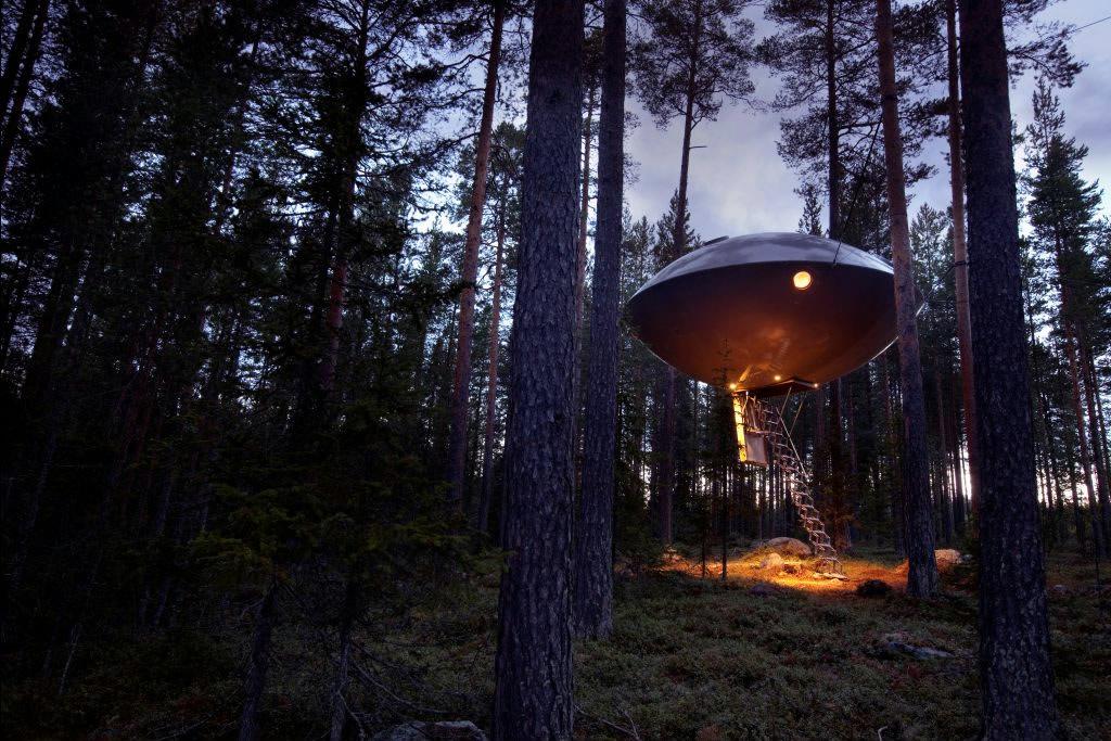 Treehotel - hotel i trætoppen