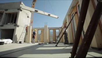 Højhus af træ - 8 etager på 8 dage