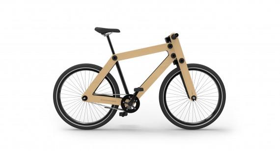 Sandwichbike - cykel af træ