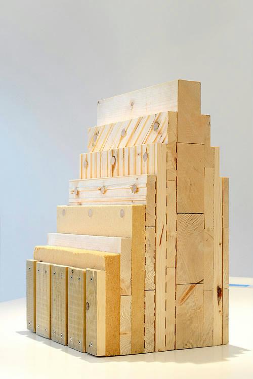 Woodcube væggen