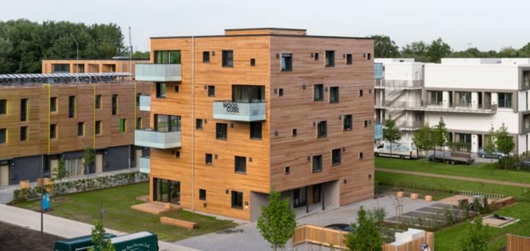 Woodcube i Hamburg
