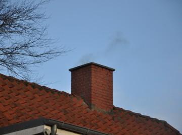 Røg fra skorsten