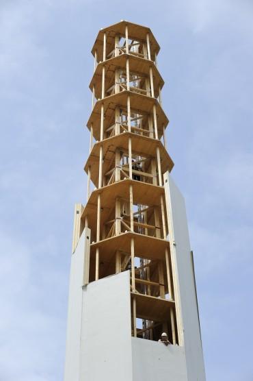 TimberTower Vindmølle af træ