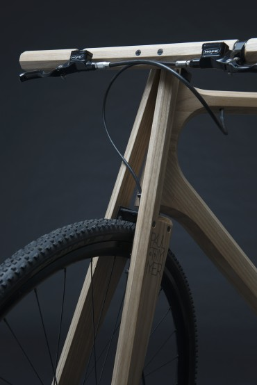 Gaffelkonstruktionen giver ekstra stabilitet og et specielt udseende. (Foto: Paul Timmer)