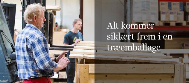 Specialemballage fra Dansk Træemballage