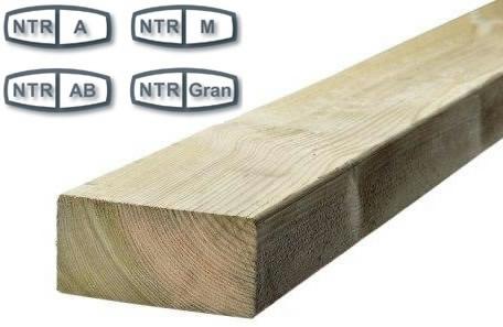 NTR Trykimprægneret træ
