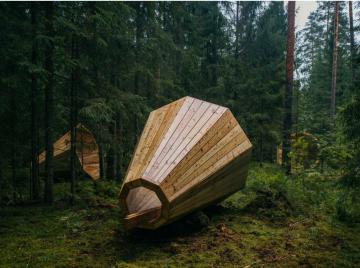 Megafoner fremhæver skovens lyde