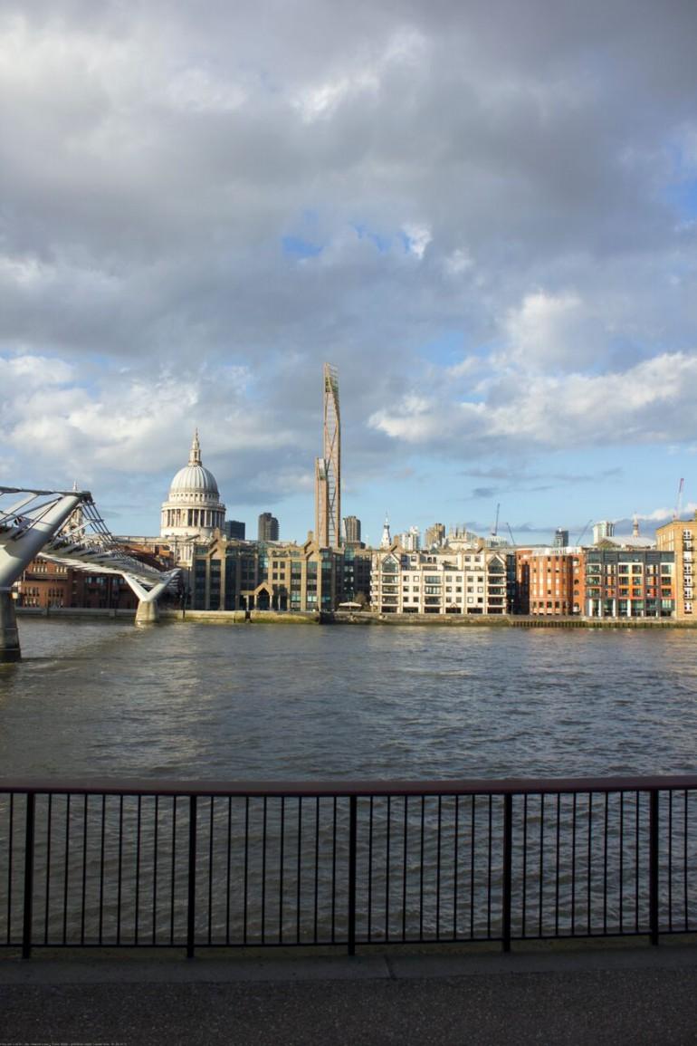Træskyskraber i London