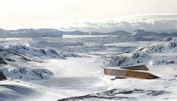 Unesco-center i vinter sol