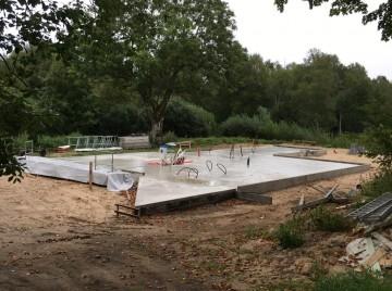 Fundament til træhus