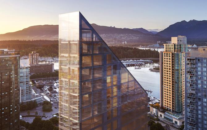verdens højeste træ-hybrid bygning i Canada