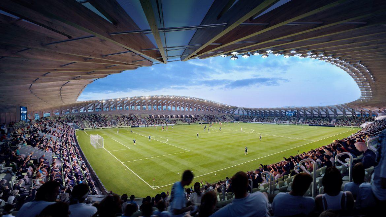 Engelsk fodboldstadion skal bygges af træ