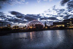 Netværksmøde i Dome of Visions på Pier 2 i Aarhus.