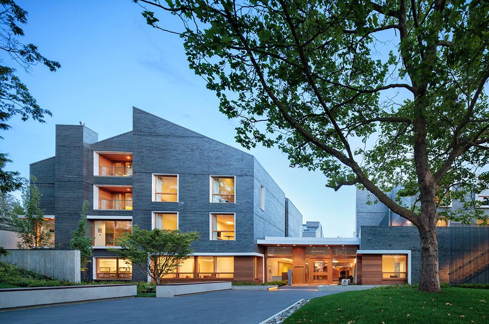 Ronald McDonald kræftcenter i British Columbia bygget af CLT træelementer