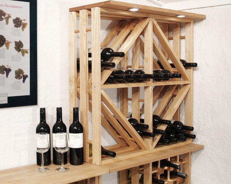 Vinreol fra Orebo Træindustri
