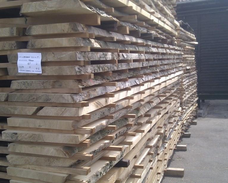 Tørring af træ uden revner