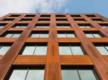 Højeste moderne træbygning