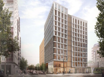 Portlands kommende træhøjhus på 12 etager