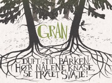 Designgruppen HOLDBAR inviterer til åbningen af værket GRAN i Hareskoven.