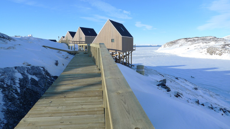 Turisthytter i Ilimanaq