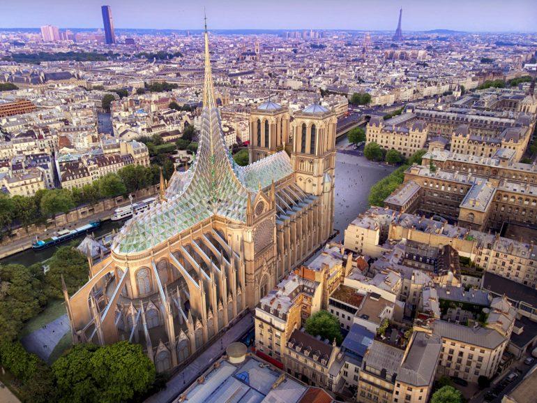 Notre Dame Vincent Callebaut Architectures